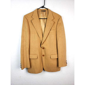 Burberrys Vintage Pure Camel Hair Coat Jacket